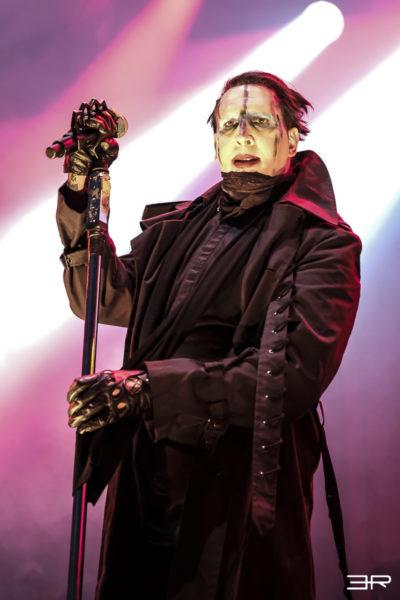 Marilyn Manson à la fête du bruit 2017